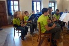 20.03.2011 Concerto microband Casa cav. Pellanda