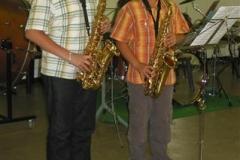 i 2 sassofoni